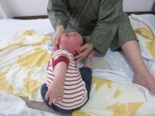 首まわり1|赤ちゃんの成長記録