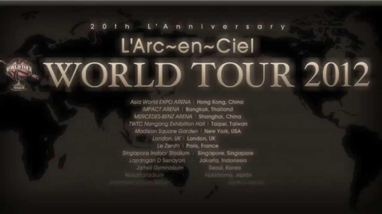 L'Arc~en~Ciel MADISON SQUARE GARDEN ダイジェスト - YouTube