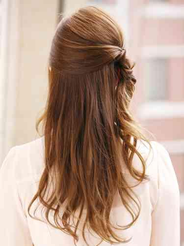 可愛いロングヘアの髪型の画像貼っていこ〜