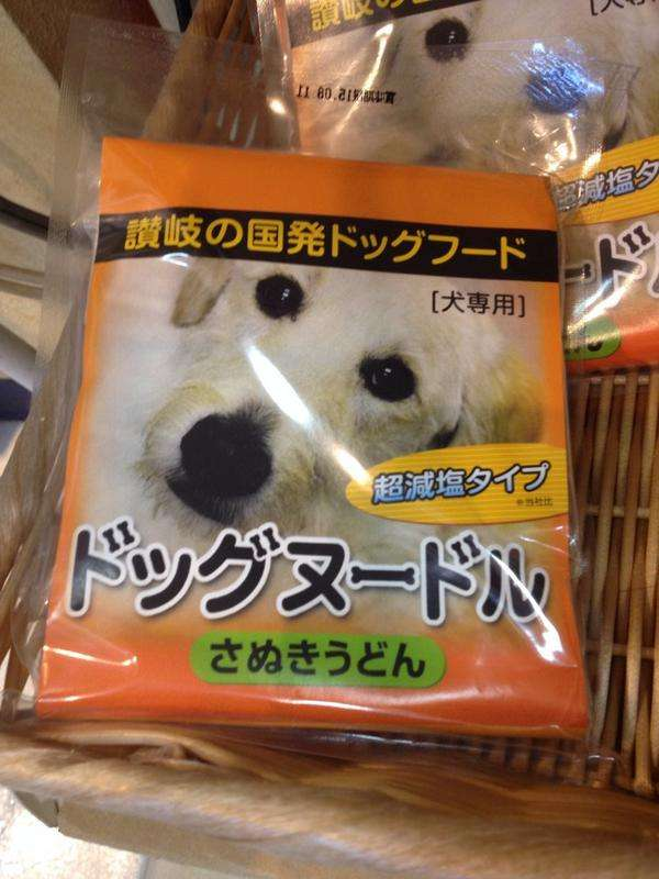 【うどん県】香川県から犬専用うどんが発売されるwwwwwwwwwwwwwwwwwww:ハムスター速報