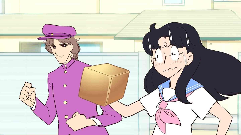 ガラスの仮面ですがZ 第8話 「食パンくわえた女子高生の食パンの角にぶつかって致命的に始まる何か」 - YouTube