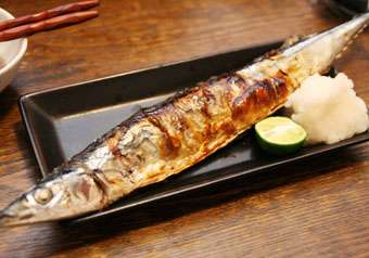 秋刀魚の時期ですね!!!
