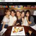 北川景子の誕生日にセーラームーン仲間が集結