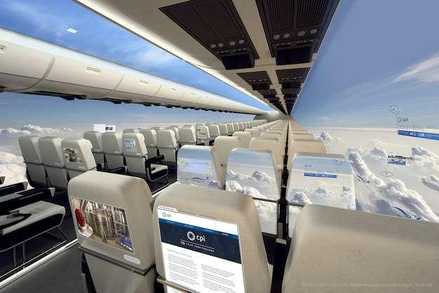 10年以内に空を飛ぶ可能性がある「窓のない」新型飛行機がスゴい