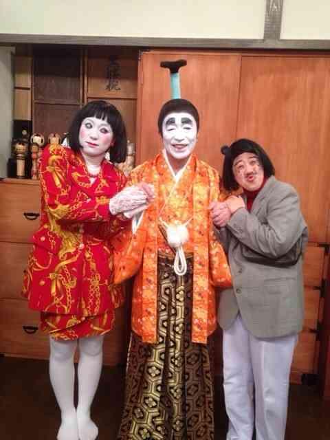 志村けんのバカ殿様&日本エレキテル連合、初共演で... 志村けんのバカ殿様&日本エレキテル連合、