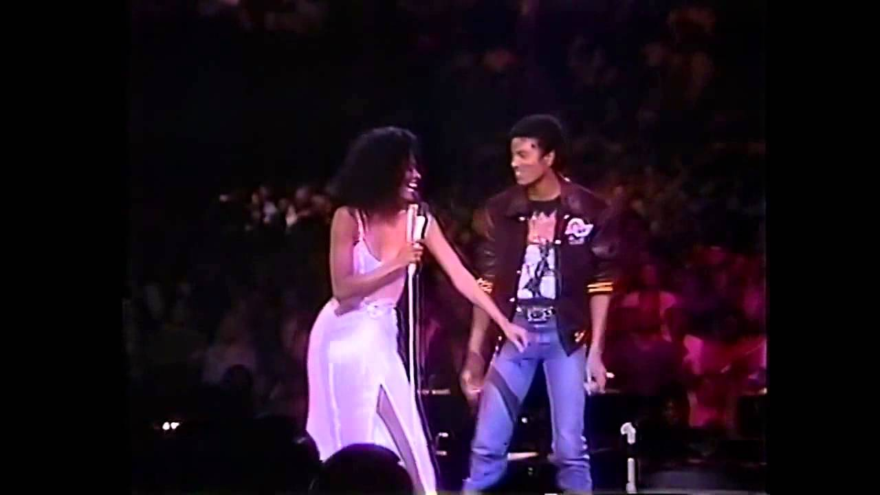 Diana Ross & Michael Jackson   Upside Down   Live in Los Angeles 1981   YouTube 1 - YouTube
