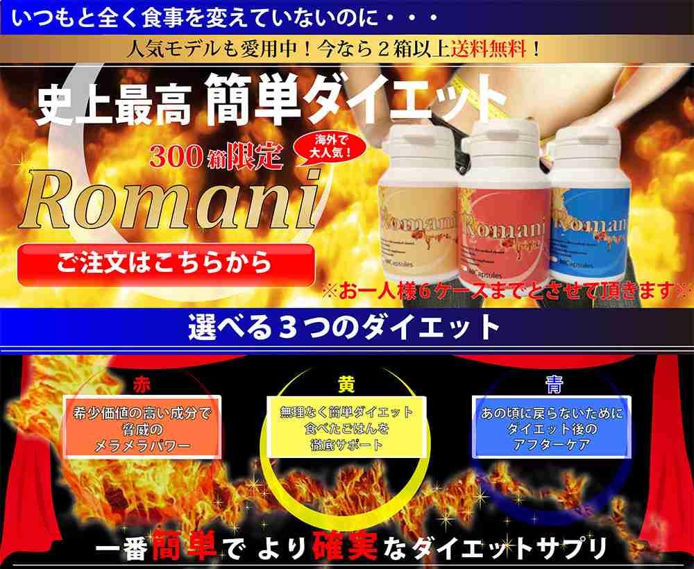 ロマーニ〜選べる3つのダイエット〜
