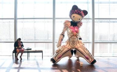 キティちゃん誕生40周年、北米初の記念展示会 写真18枚 国際ニュース:AFPBB News