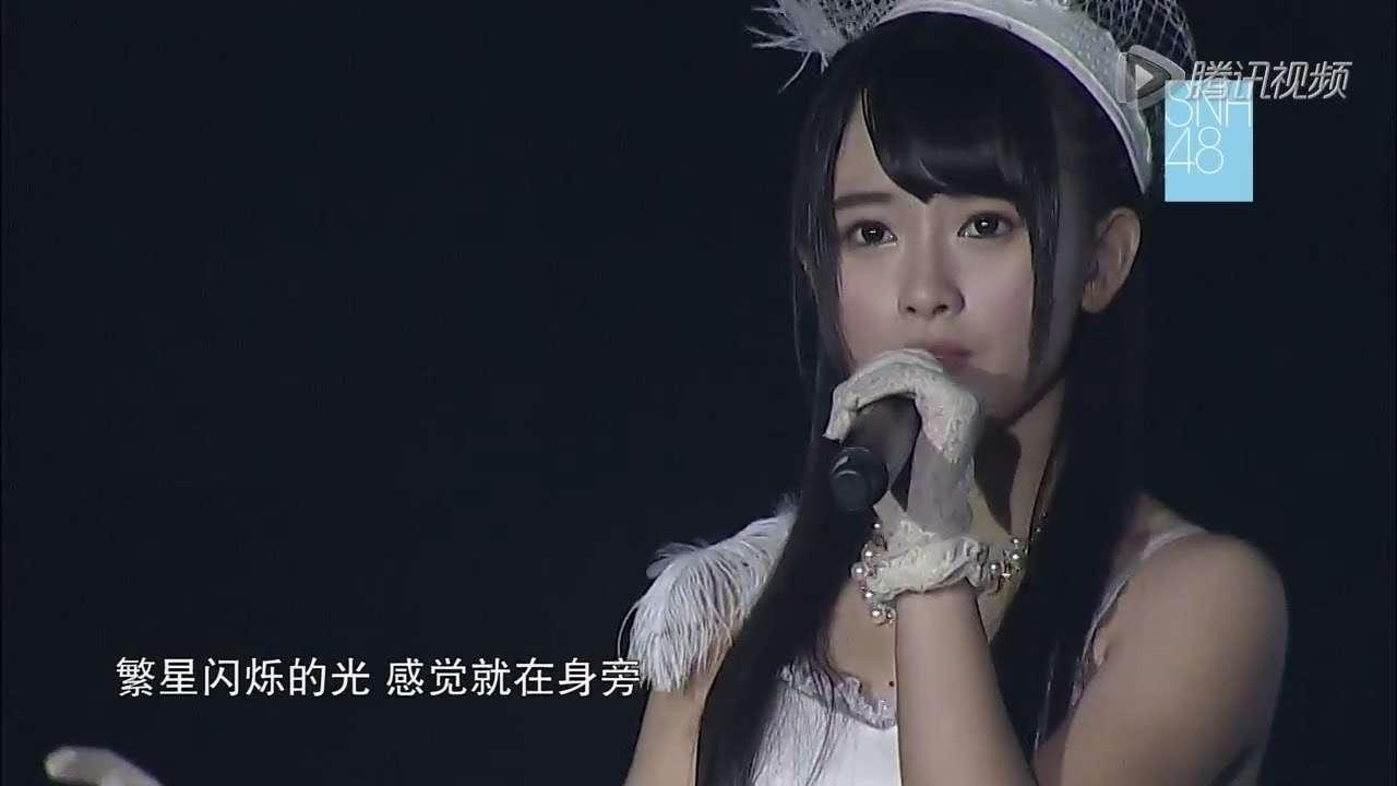 SNH48紅白公式映像 M19.夜風の仕業 キクちゃん 2014-1-18 - YouTube