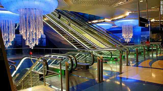 世界で最も印象的な地下鉄駅…台湾・美麗島駅ほか