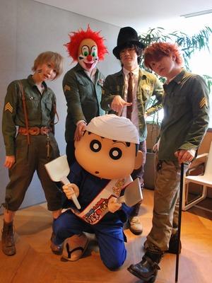 SEKAI NO OWARI、大ゲンカから誕生した『クレヨンしんちゃん』主題歌の制作秘話を明かす - シネマトゥデイ