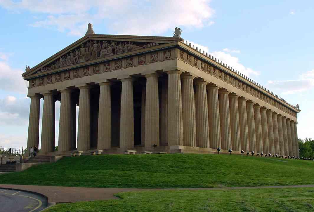 パルテノン神殿。