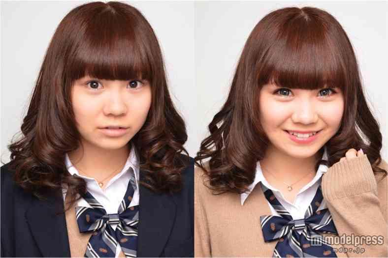 """""""関東一&関西一""""可愛い女子高生が決まるミスコン、候補者たちの詐欺級メイクのビフォーアフター写真が公開される"""