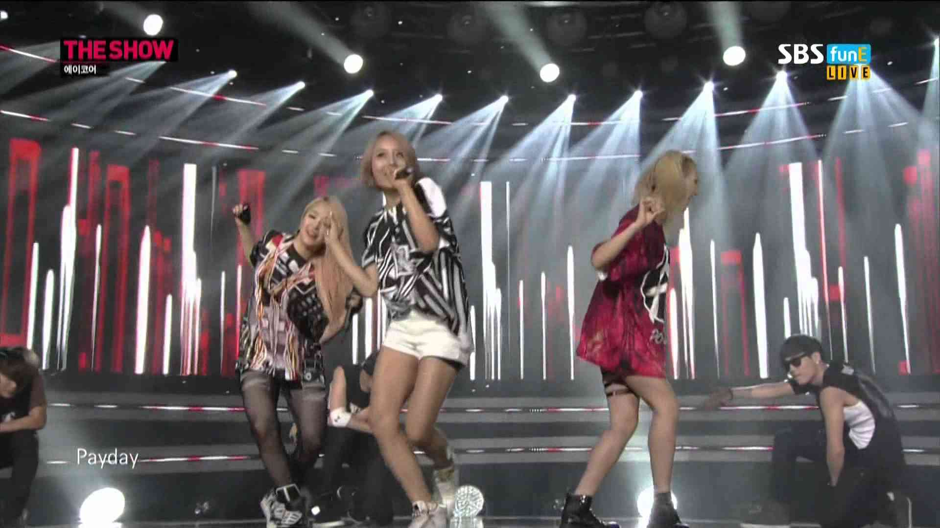 140812 A.KOR (에이코어) - Payday (페이데이) @ The Show All About K-pop [1080P] - YouTube