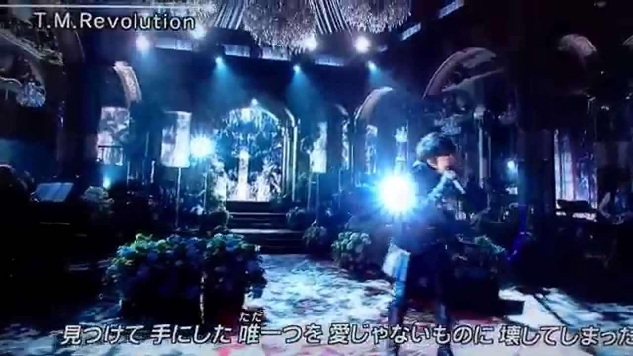 「Phantom Pain 」T.M.Revolution 2014FNS歌謡祭 - YouTube