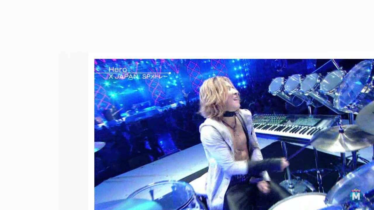 X JAPAN SPメドレー Mステスーパーライブ MUSIC STATION 2014/12/26 - YouTube