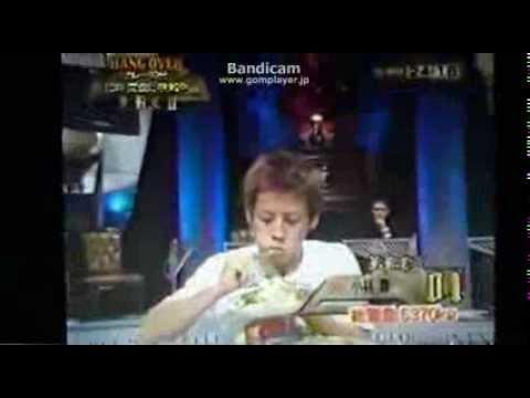小林尊 大食い カレー13杯6分で完食! - YouTube
