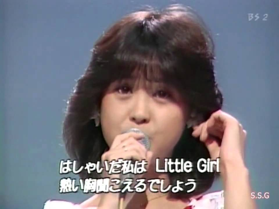 松田聖子 青い珊瑚礁 1980年 - YouTube