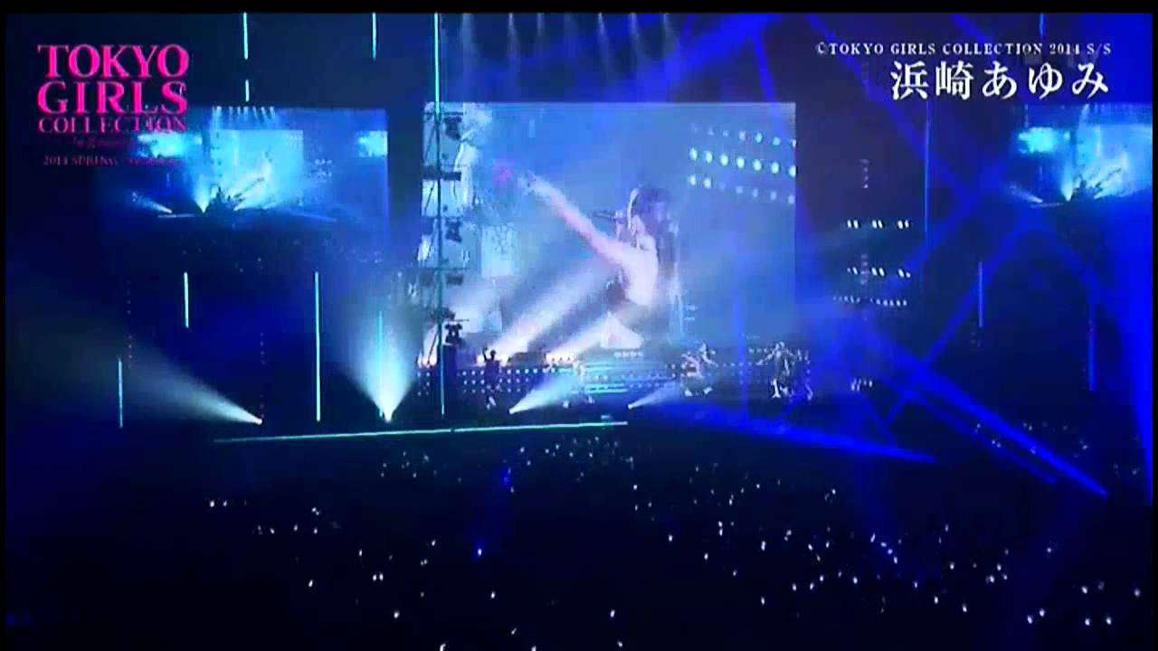 Ayumi Hamasaki - STEP you, Startin', and until that Day Tokyo Girl Collection 01 03 2014 - YouTube