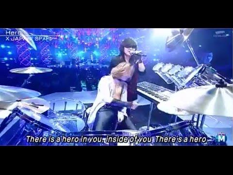 【Mステ】2014年12月26日  X JAPAN SPメドレー   ミュージックステーション - YouTube