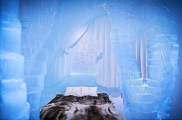 まるでディズニーの世界! 年間約5万人以上が訪れる「氷のホテル」が幻想的で美しすぎる!! | ロケットニュース24