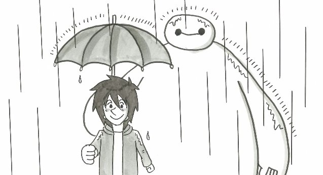 異例のディズニー公認!鉄拳の感動作、『ベイマックス』パラパラ漫画PV公開
