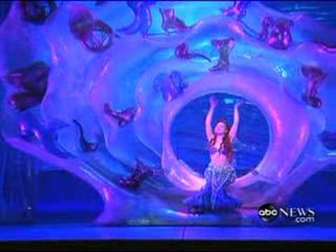 The Little Mermaid On Broadway - Part Of Your World - YouTube