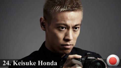 世界ハンサムランキング 2014、最もイケメン顔100人に日本人は3名 本田圭佑、金城武、赤西仁