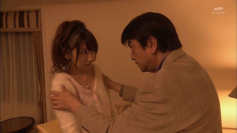 AKB48柏木由紀、太ももに手を入れられる。ドラマ『黒服物語』最終回にファンがショック。
