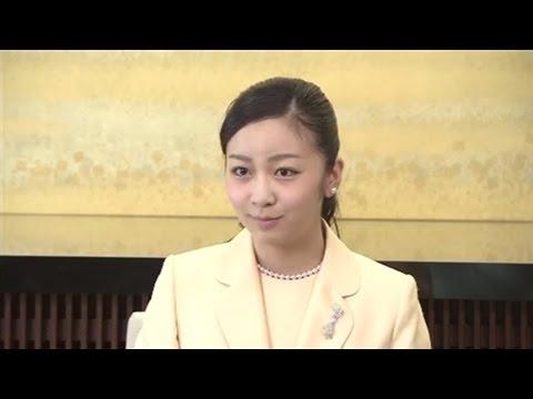 佳子さま20歳に、初会見で成年迎えた心境語る - YouTube