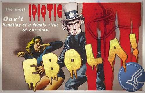 天下泰平 : エボラは嘘であり、赤十字に注射をされた者だけが病気になっている