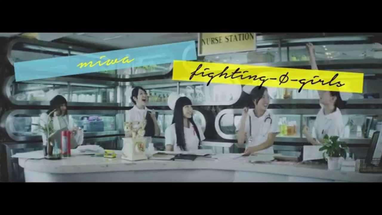miwa 『fighting-Φ-girls short ver.』 - YouTube
