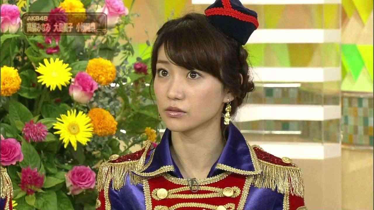 AKB48大島優子がNHKの生放送で熱烈アピールww「時代劇に出たくてピアス開けてません!」