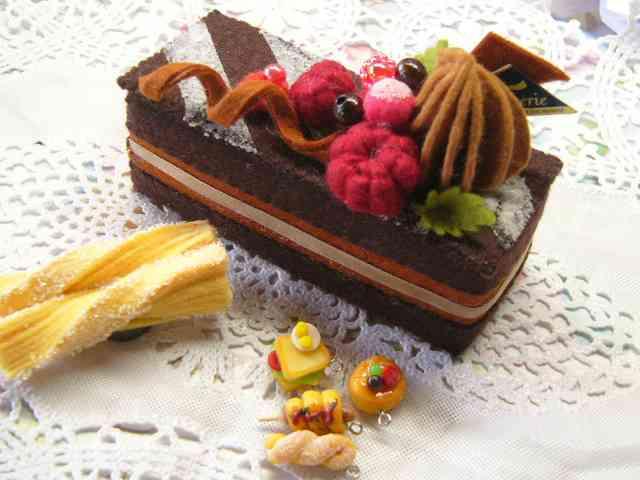 チョコを使ったケーキ、お菓子の画像を貼るトピ