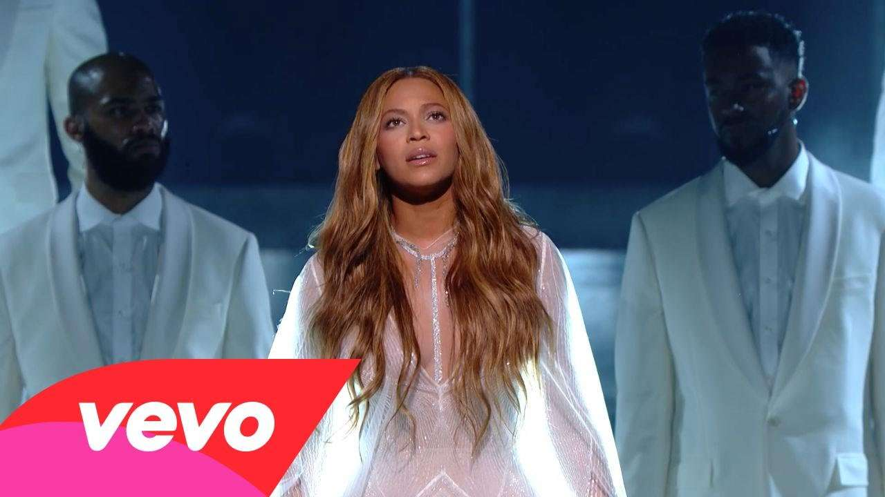 Beyoncé - Take My Hand. Precious Lord (57th GRAMMYs) - YouTube