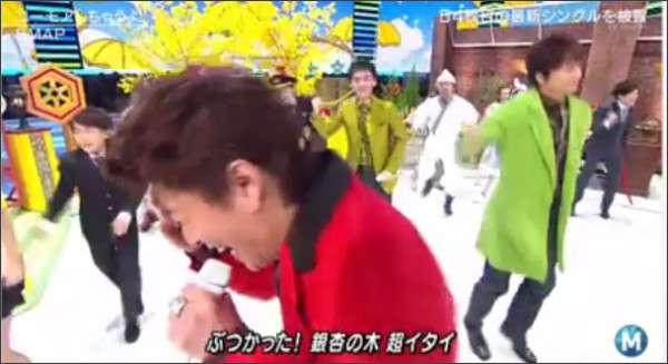 木村拓哉がカメラに激突…SMAPが「ミュージックステーション」でハプニング連発