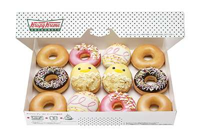 クリスピー・クリームから新ドーナツ『キャラメル イースター』など限定3種発売 | ニュース - ファッションプレス