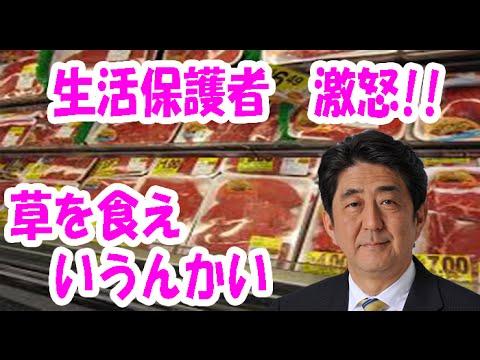 【在日崩壊】大阪の生活保護民が激怒!!「わいらに草を食えいうんか!生活保護費を増額せえや!」 - YouTube