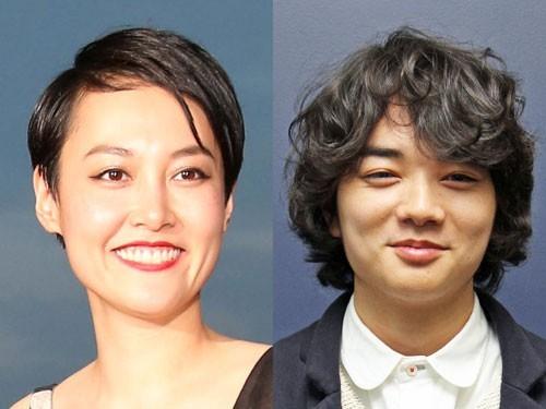 菊地凛子(33歳)と染谷将太(22歳)、「富士そば」の券売機の前で濃厚キス