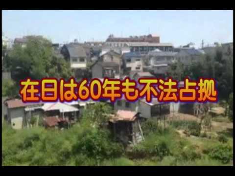 【在日不法占拠】京都 砂防ダム内に在日韓国人が60年間不法占拠で集落を作る!移転要請で住民が反発! - YouTube