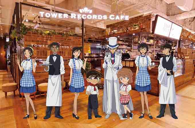タワーレコード渋谷店に「コナンカフェ」がオープン