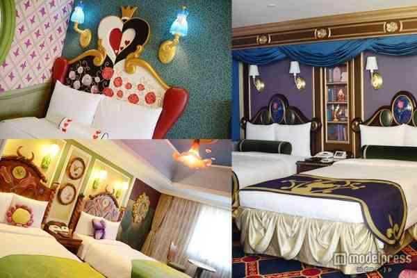 「美女と野獣」「アリス」「ティンカーベル」ディズニーホテル新客室、初お披露目 - モデルプレス