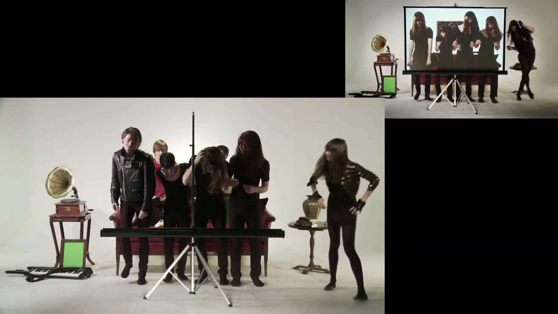 "Diane Birch - Valentino ""Behind The Screen"" (Split-Screen Version) - YouTube"