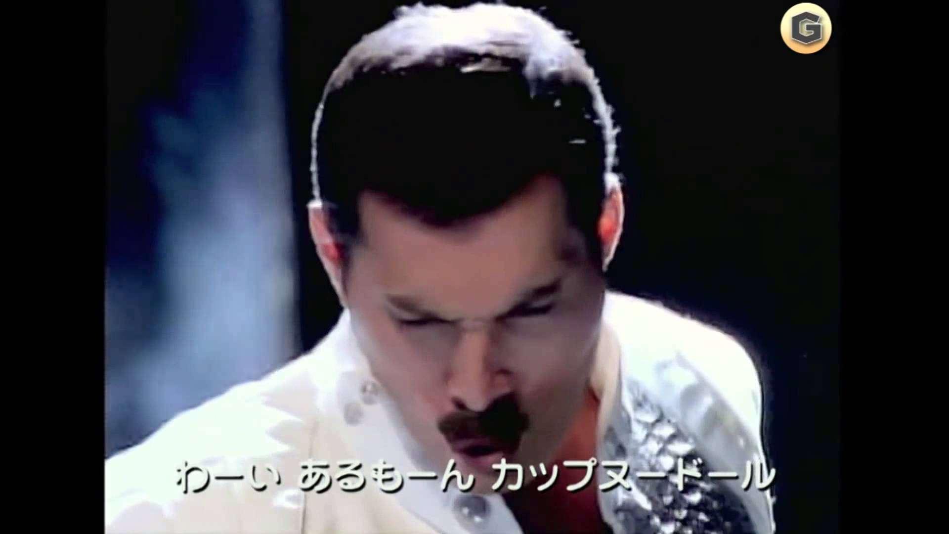 日清 カップヌードル CM 「フレディマーキュリー(クイーン)」篇 - YouTube