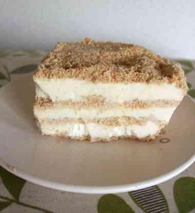 Serradura sawdust pudding (セラデューラ=マカオプリン)   HOLIDAY NOTE