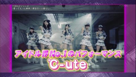 【画像】℃-ute『ゴッドタン「照れカワキュートVSパンサー!」』(10/26) : ハロプロキャンバス
