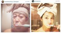 中村アンと小藪千豊の「そっくりな歯みがき姿」に反響 - Scoopie News - GREE ニュース