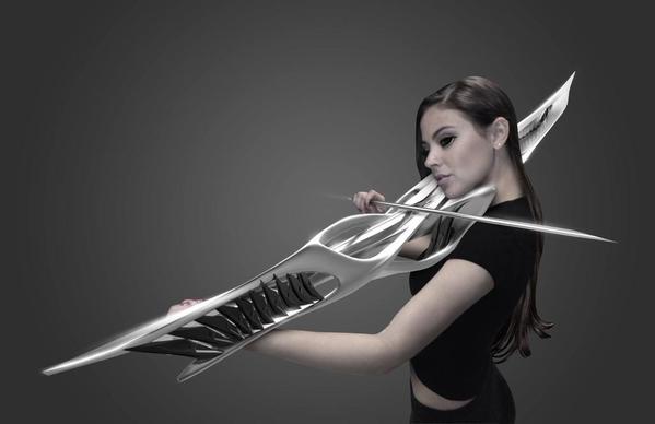 SFなデザインの電子ヴァイオリンが超カッコイイと話題に! 物凄くノムリッシュwwwwww : はちま起稿