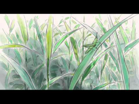 """6分  ジブリ かぐや姫 プロローグ  〜序章〜  Studio Ghibli """"Kaguya-hime no Monogatari """" - YouTube"""