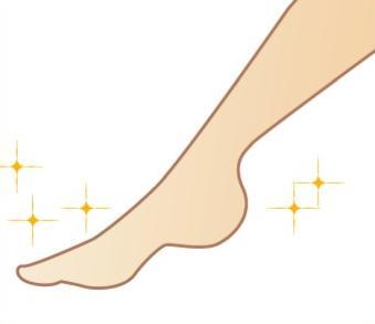 脚のラインを綺麗にしたい!